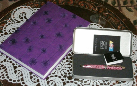 writing journal and acme pen