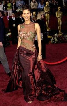 Hall Berry Oscars 2002
