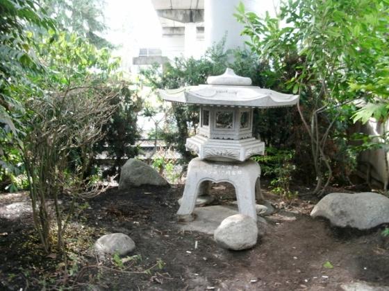 Stone Carving Chiba Garden