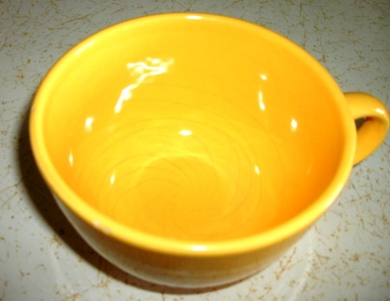 Large Yellow Cup