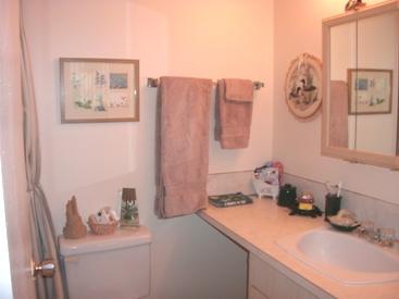 repainted bathroom