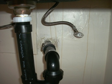 Underneath Kitchen Sink in June