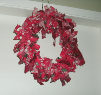 Unadorned Christmas Wreath