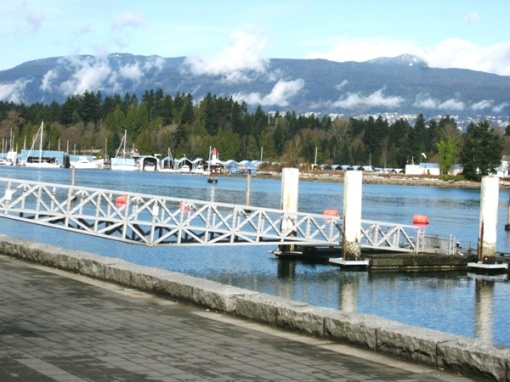 Coal Harbour facing Stanley Park