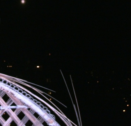 Moon from Balcony