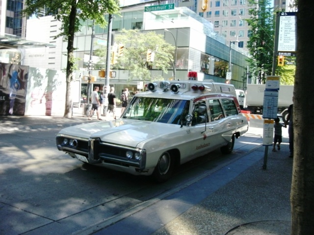 1970s Ambulance at The Granville Social
