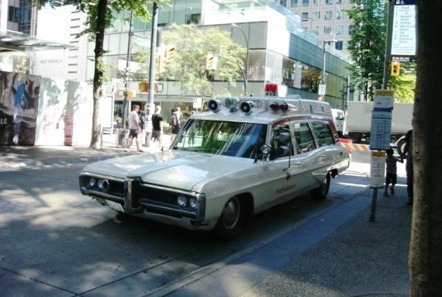 1970s Ambulance at The Granville Social