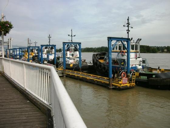 Westminster Quay tugboats