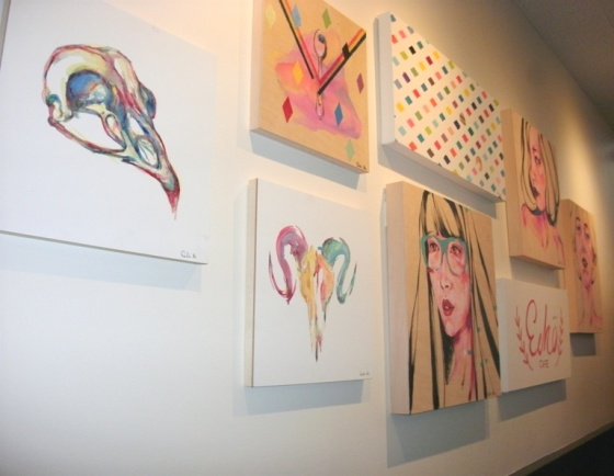 Art Wall Echo Cafe
