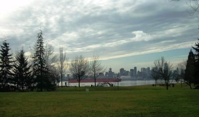Cargo ship North Vancouver