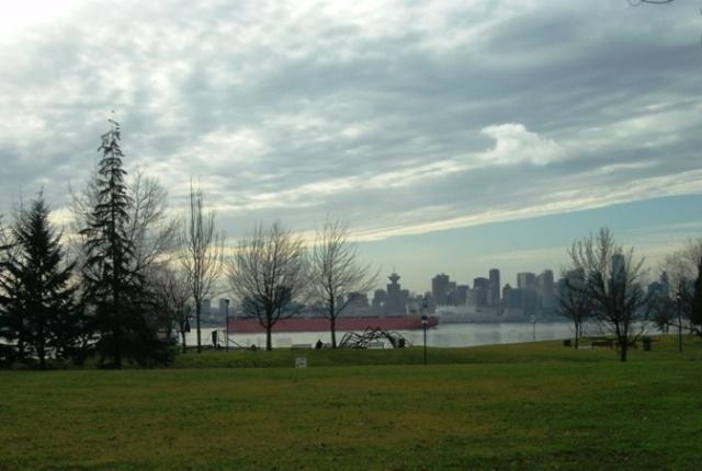 Cargo ship North Vancouver